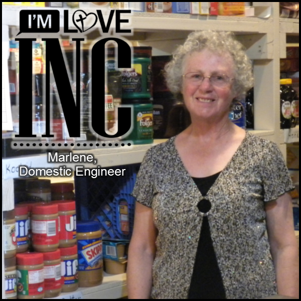 Marlene - Serving in the Pantry