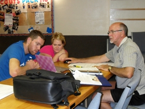 New Hope Clients with Counselor