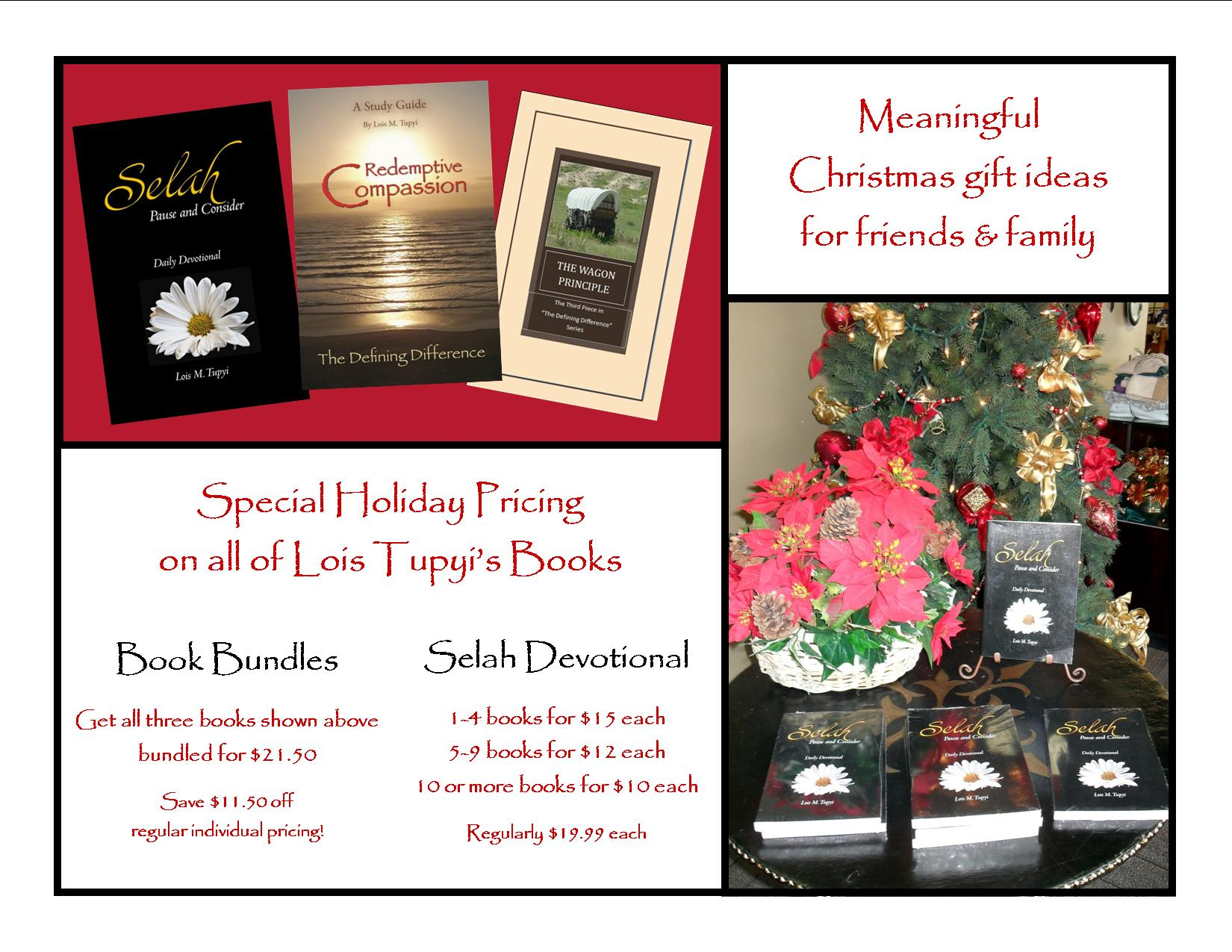 Meaningful Christmas Gift Ideas! - Love INC of Treasure Valley