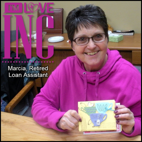 Marcia - Serving in Noteworthy Card Making