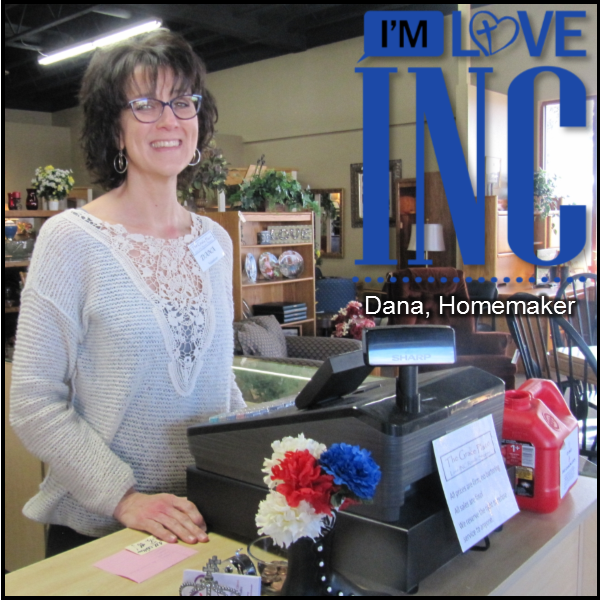 Dana - Serving at The Grace Place